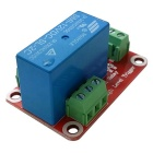1-Channel 12V High Level Dual Power Relay Module - Red + Blue
