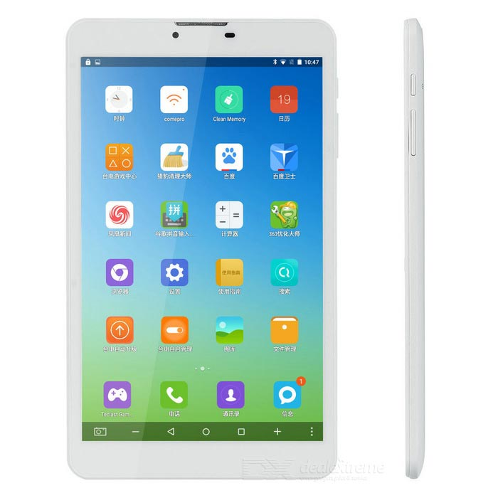 "teclast P80 4G android 5.1 Tablet PC w / 8"", 16 GB ROM, 2MP, OTG - bílá"
