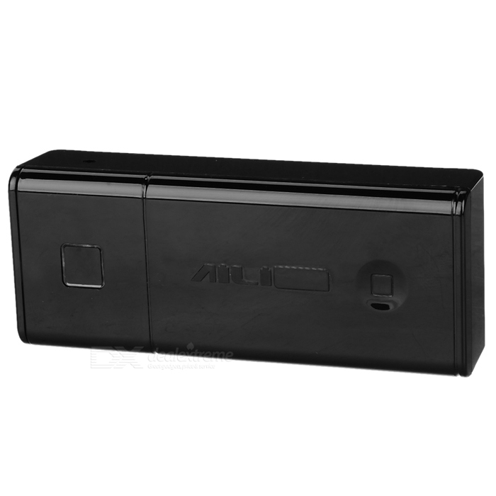 beskyttende ABS case for 2 * 18 650 USB mobile makt - svart