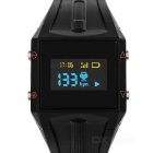"WH6 Bluetooth V4.0 TPU Band Smart Watch w/ 1.1"" OLED, Pedometer, Sleep, Heart Rate Monitor + More"