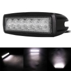 18W 1440lm 6-LED White Flood Beam Work Light Bar Off-Road Light (10~30V)