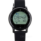 "F68 Bluetooth V4.0 TPU Watchband Smart Watch w/ 1.0"" Screen, Hear Rate Monitoring + More - Black"