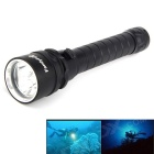 FandyFire 3 x L2 XM-L2 U2 3700lm 3-Mode LED Diving Flashlight w/ 2 x 18650 Batteries / Charger