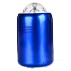 Mini BT V2.1 Speaker w/ RGB LED Disco Home Party Stage Light - Blue