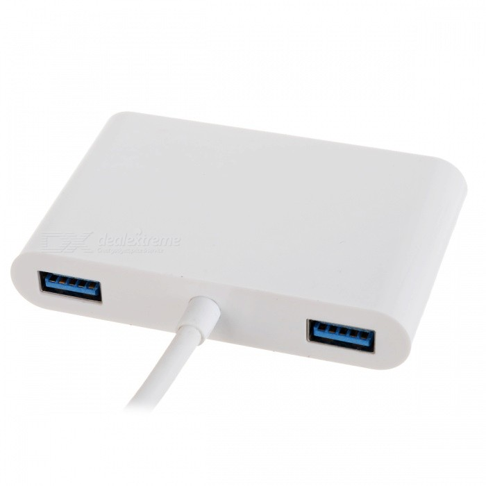 CY U3 344 Type C To VGA Amp USB OTG Amp Charger Adapter For