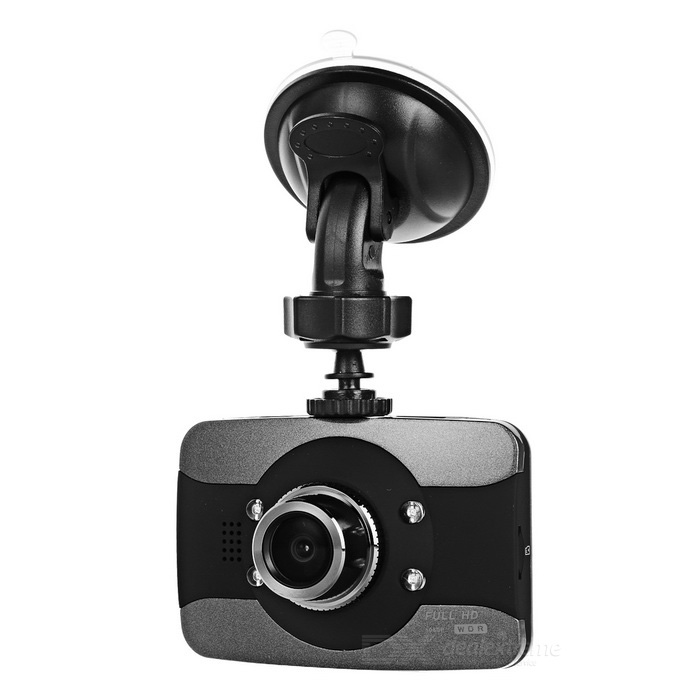 "3.0"" TFT 1080P CMOS 170 '12,0 MP IR Night Vision Car DVR Camera - Zwart"