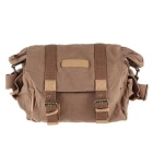 Caden F1 Waterproof & Portable Canvas DSLR Camera Shoulder Bag for Canon Nikon Sony Olympus Pentax