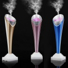 Mini Multifunctional Portable Torch Shaped Humidifier - Light Brown