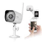 Zmodo Outdoor 720P HD Wi-Fi Netwerk IP Camera - Wit (US Plugs)