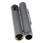 5mw Starry 532nm Green Laser Pointer Flashlight - Silver Grey (2PCS)