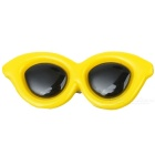 Pet Dog Cat Puppy Grooming Cute Sunglasses Style PP Hair Clip - Yellow
