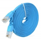 MAIKOU Cat-5 1000Mbps RJ45 macho a macho cable plano de red - azul (3m)