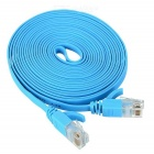 MAIKOU Cat-5 1000Mbps RJ45 Male to Male Flat Network Cable - Blue (3m)