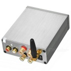 Wireless BT V4.0 HiFi Digital Subwoofer Audio Amplifier - Silver Grey