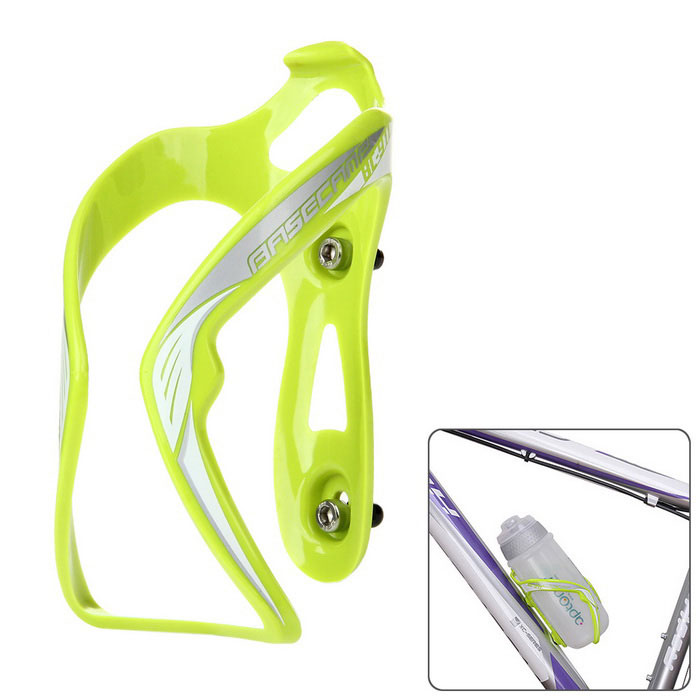 Basecamp Bike Bicycle Cycling Plastic Water Bottle Holder Cage - Green