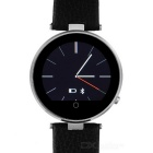 ZGPAX S365 MTK2502 Bluetooth V4.0 Smart Watch w/ Heart Rate Monitor Android / IOS Supporting - Black