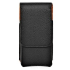 Leather Waist Bag Pouch Phone Case for IPHONE 6 / 6S - Black