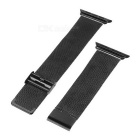 Watch Band w/ Attachments + Screwdriver for APPLE Watch 42mm - Black