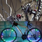 Leadbike A01 Colorful 2-Mode 20-LED Bike Wheel Spoke Light - Black