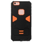 Power Rangers Style Protective TPU + PC Back Case for IPHONE 6S PLUS - Black + Orange