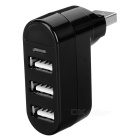MAIKOU USB 2.0 Hub w/ 3 Ports / Indicator Light - Black