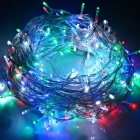 18W 900lm Colorful Light 300-LED Christmas String Light - White (30m)