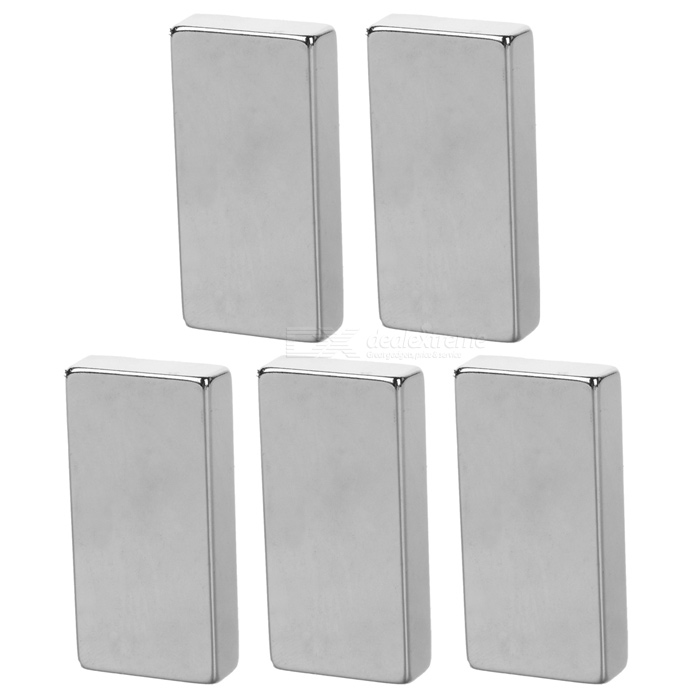 50*25*10mm Rectangular NdFeB Magnet - Silver (5PCS)Magnets Gadgets<br>Form ColorSilverMaterialNdFeBQuantity1 SetNumber5Suitable Age 12-15 Years,GrownupsPacking List5 x Magnets<br>