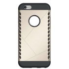 Detachable Protective Back Case for IPHONE 6 / 6S - Black + Golden
