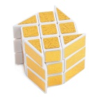 Brain Challenge Hot Wheels Cube - White + Golden