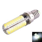 Dimmable E14 8W LED Corn Bulb White Light 6000K 720lm SMD 5730 (AC 110V)