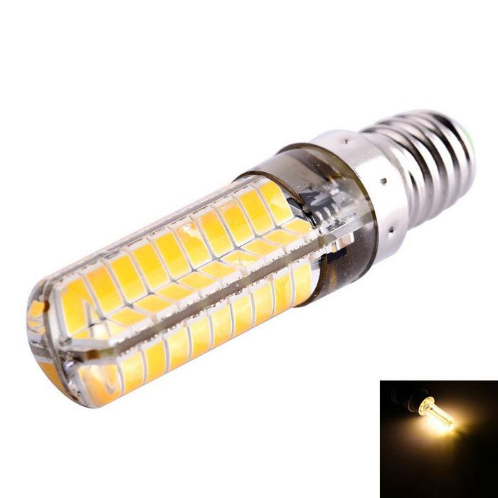 Dimmable E14 8W LED Corn Bulb Warm White Light 3000K 720lm (AC 110V)