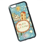 Christmas Pattern Back Case for IPHONE 6 / 6S - Blue + Multicolor