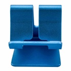 "Aluminum Alloy Desktop Holder Stand for 4~13"" Phone & Tablet PC - Blue"