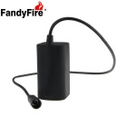 FandyFire 8.4V 4000mah Waterproof Bike Light 4 x 18650 Batteries Pack