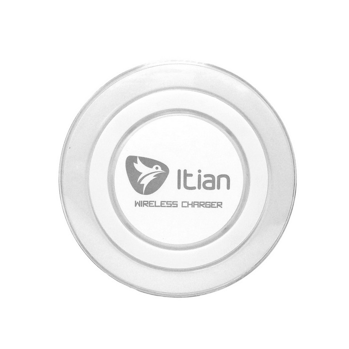 Itian Qi Standard Mobile Wireless Power Charger - White