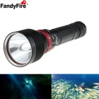 FandyFire XM-L2 U2 1-LED 1200lm 3-Mode Cool White Water & Land Diving Flashlight (2 x 18650 / 26650)