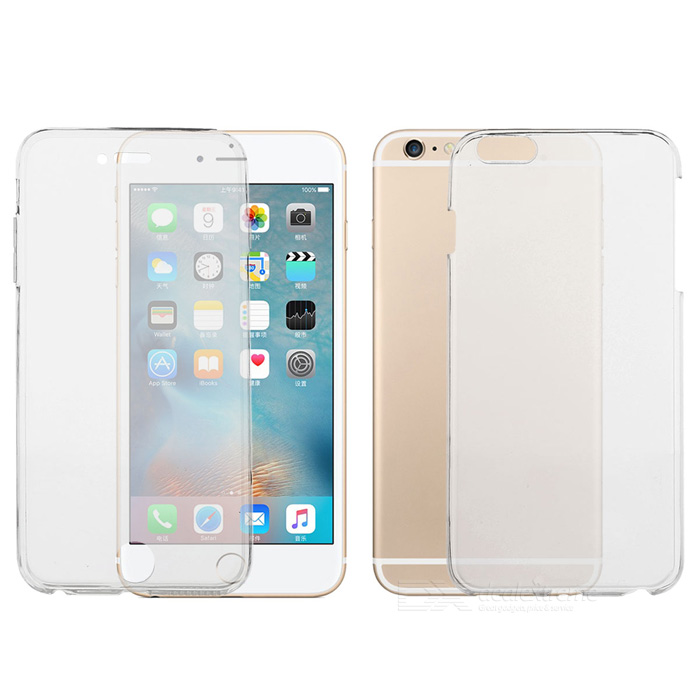 Protective Front + Back Case for IPHONE 6 PLUS / 6S PLUS - Transparent