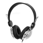 OVLENG OV-T168MV Headband 3.5mm Wired Headphone w/ Mic. / Remote - Black + Silver