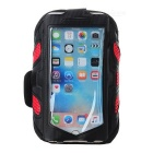 Sports Mesh Armband for IPHONE 6 / 6S - Black + Red