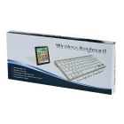BK3001BA Bluetooth V3.0 Keyboard w/ 78-Key for APPLE + More - Black