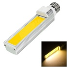 E27 13W E-03 COB 40-LED Bulb Warm White Light 1200lm - White + Silver