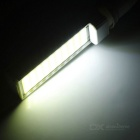 E27 13W E-03 COB 40-LED Bulb White Light 6450K 1200lm - White + Silver