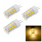 JRLED G4 2W High Light Bulb Ceramic Warm White 3200K 200lm 21-2835 SMD (AC / DC 12V / 3PCS)