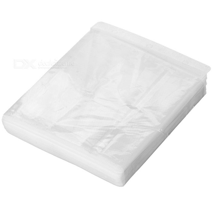 MAIKOU Padded Protective CD / DVD Storage Sheets - White (50PCS)