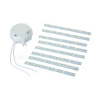 24W LED Ceiling Lights Set White 6000K 1600lm 48-SMD w/ Driver - White