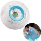 Funny Kid Bath LED Light Toy - Transparent + Blue