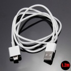 Cwxuan Micro USB Magnetic Adhesion Charging Cable - White (120cm)