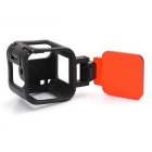 PANNOVO Protection Case Frame + Diving Filter for GOPRO HERO 4 SESSION