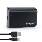 Kingma ABPAK-404H 2500mAh Battery for Gopro Hero 2 3 3+ 4 - Black