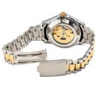 CJIABA GA1021 Men's Waterproof Mechanical Watch - Golden + White